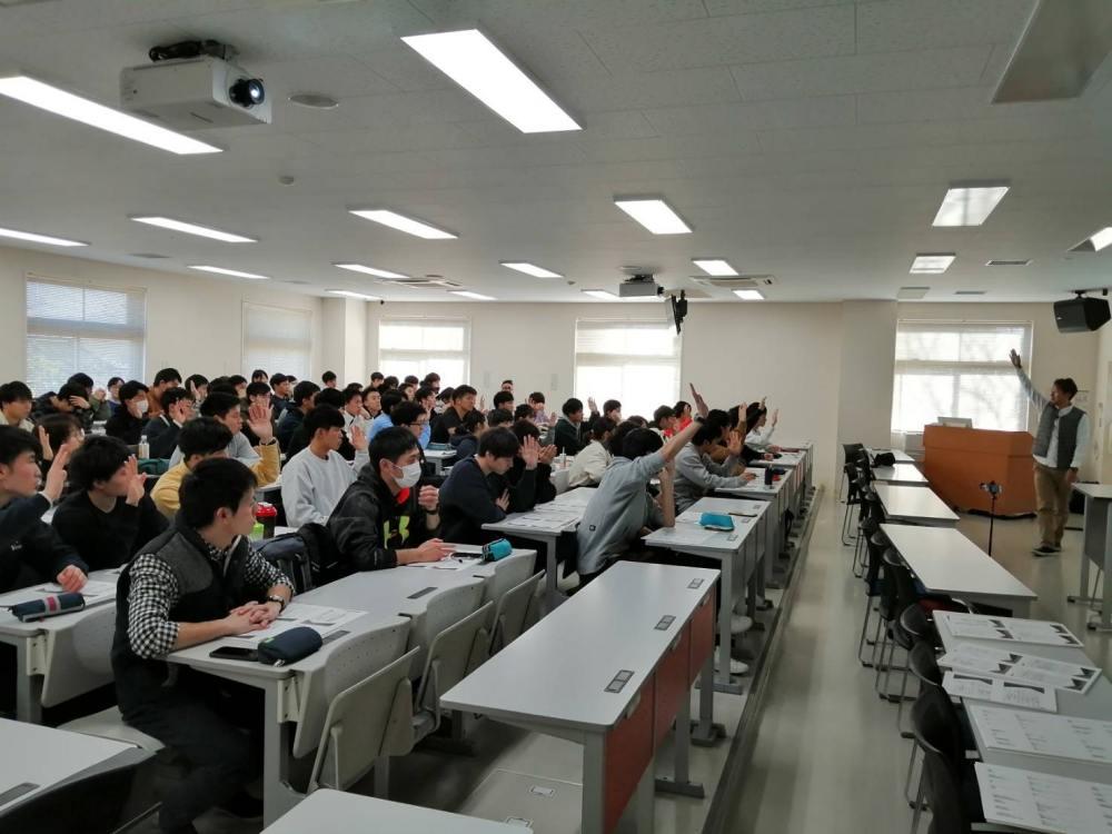 新潟医療福祉大学 救急救命士学科の講義